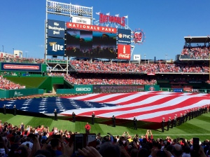 Nationals Opening Day 2015